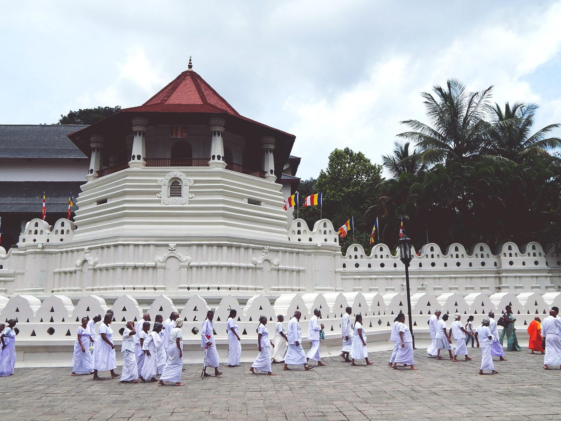 Sri Lanka - Zahntempel