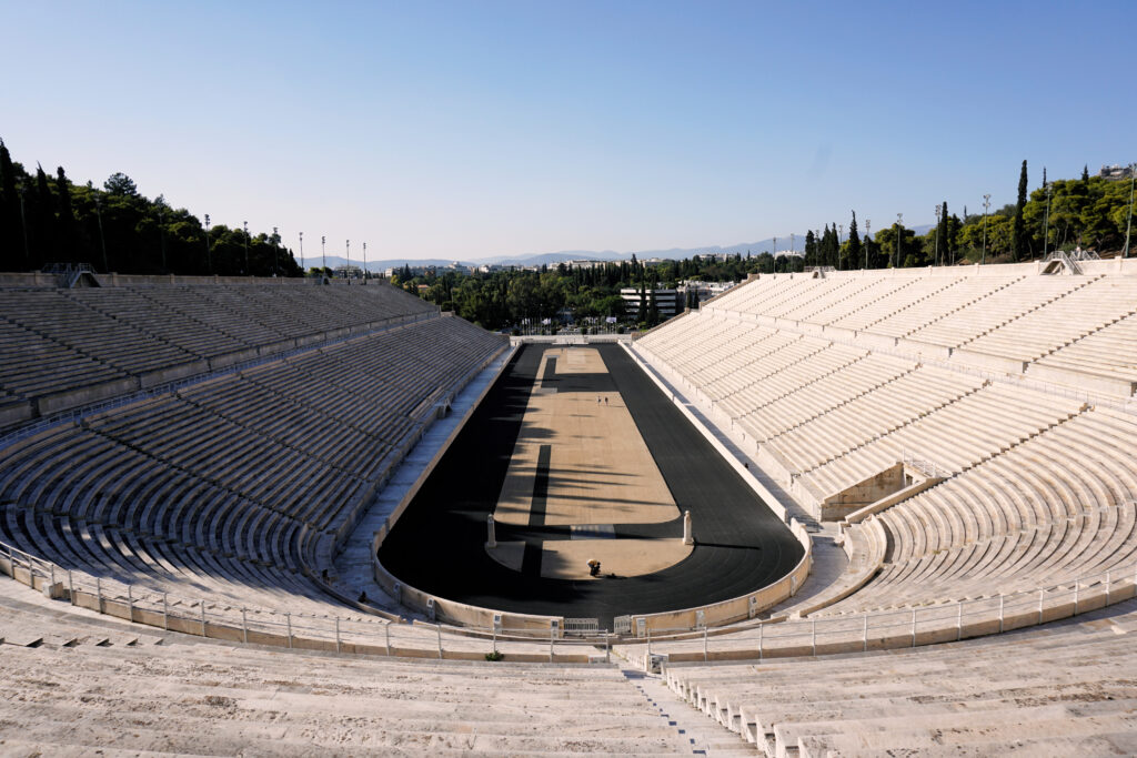 Panathinaiko Stadion in Athen