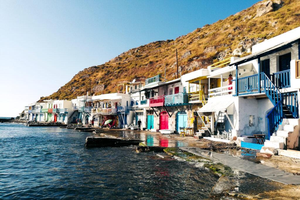 Fischerdorf Klima auf der Insel Milos
