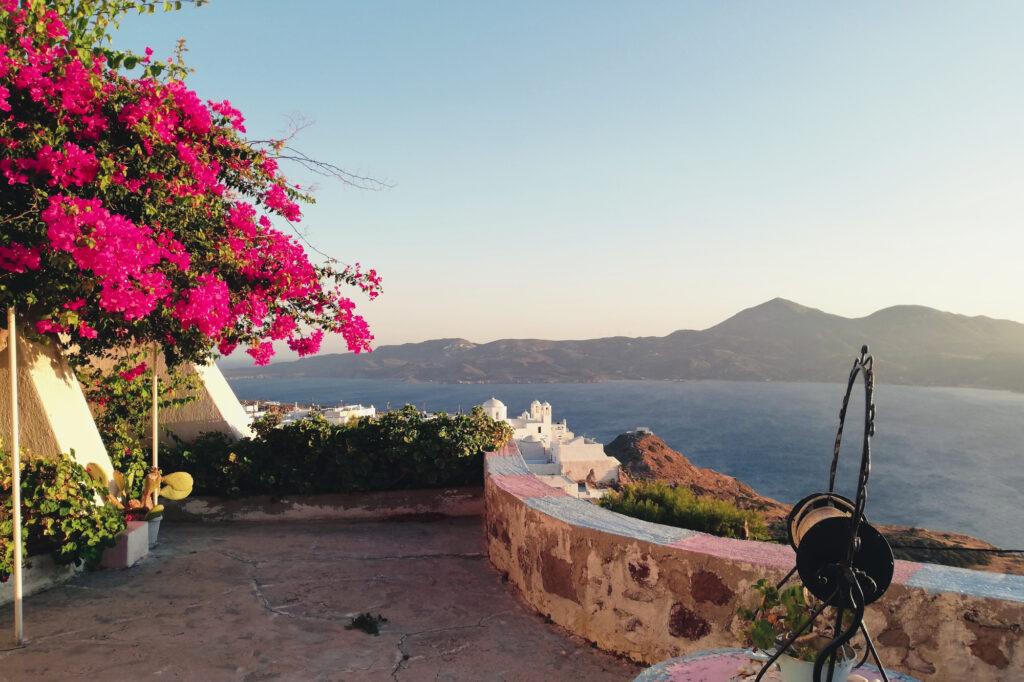 Idyllisches Örtchen Plaka auf der Insel Milos