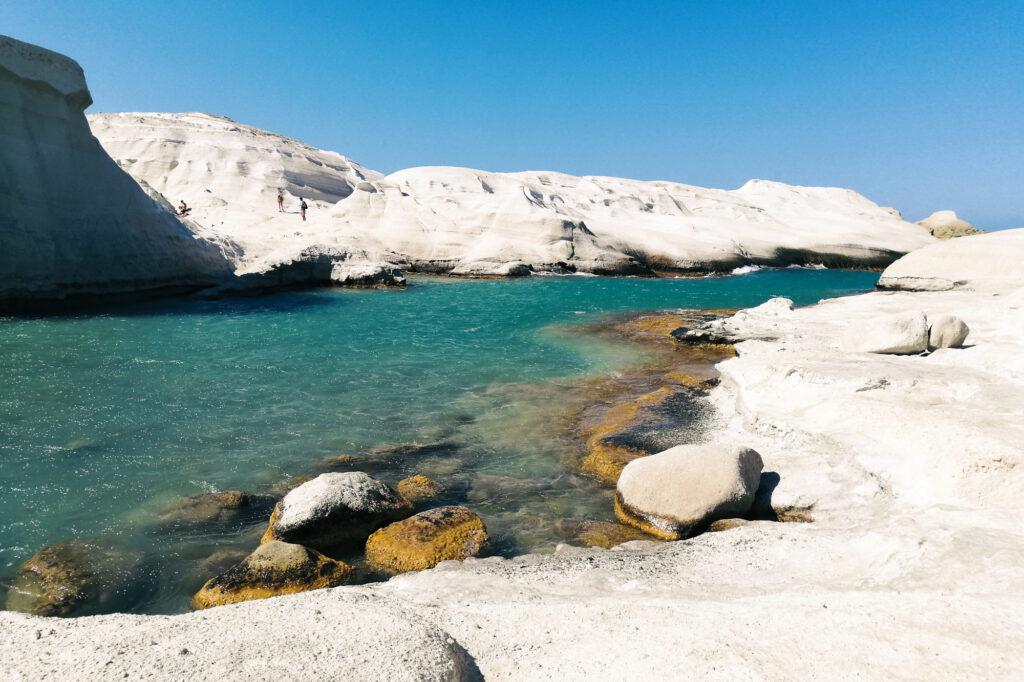 Sarakiniko auf der Insel Milos