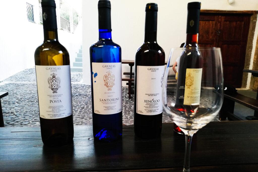 Weinkeller Gavalas auf der Insel Santorini