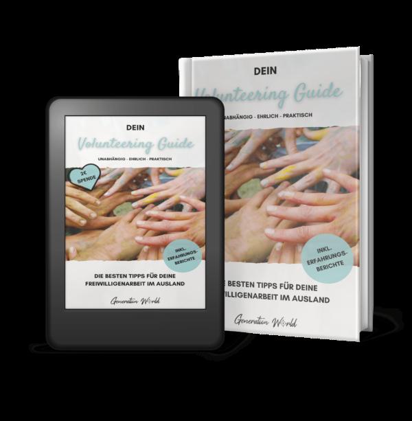 Dein Volunteering Guide - Cover Extended