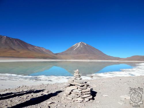 Bolivien - Laguna Verde