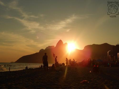 Brasilien - Rio Ipanema Beach